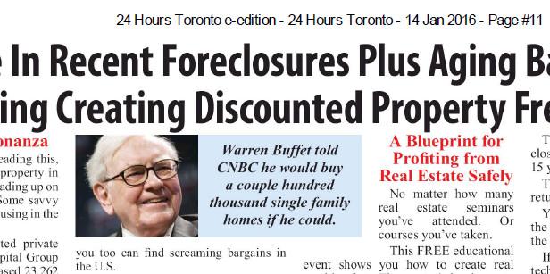 Ad image Warren Buffet Quote