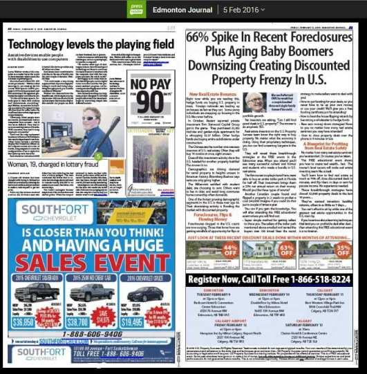 Edmonton Journal 2015 Feb 05 Page CaptureA