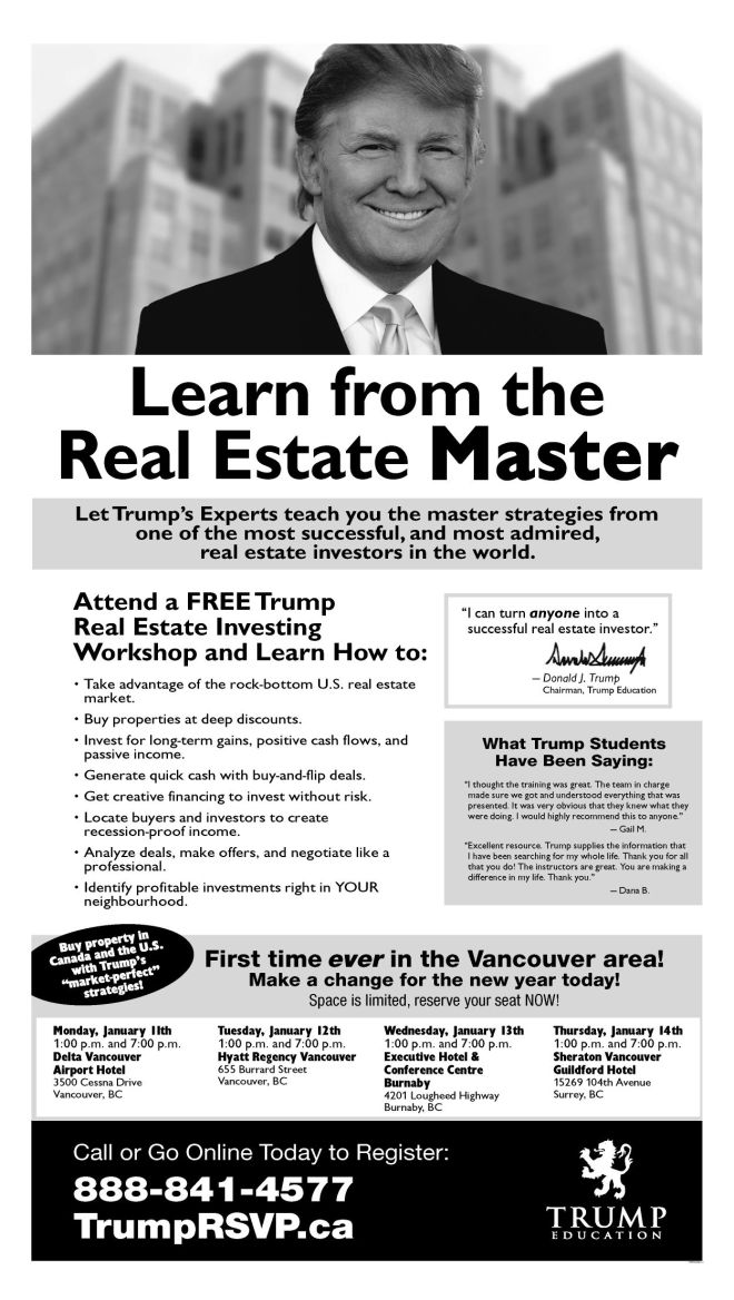 Vancouver Sun Ad January 5 2010 (S).jpg
